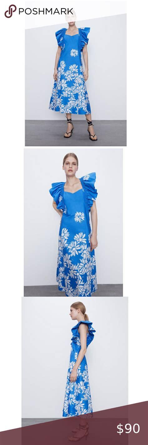 Zara women midi dress👗 in 2021   Womens midi dresses ...