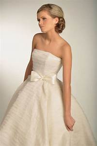 bow beautiful for brides onewed With wedding dresses with bows