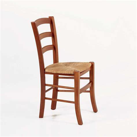 chaise rustique en bois et paille brocéliande 4 pieds tables chaises et tabourets