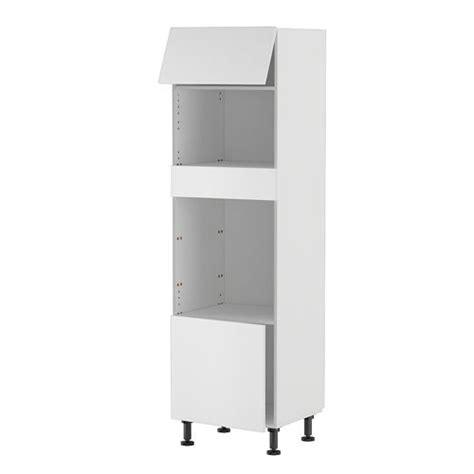 meuble de cuisine pour four et micro onde meuble cuisine colonne four et micro onde 60 20 achat