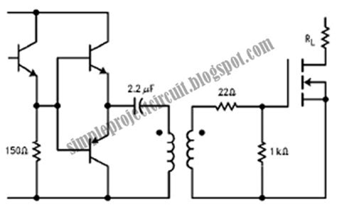 Simple Project Circuit Emitter Follower Driver