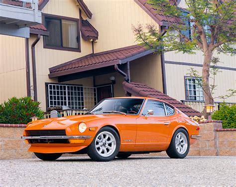 1973 Datsun 240z In Blood Orange Color Code 918