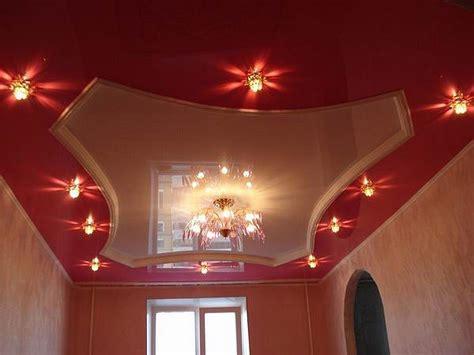 spot plafond chambre faux plafond moderne avec spots lumineux decoration plafond