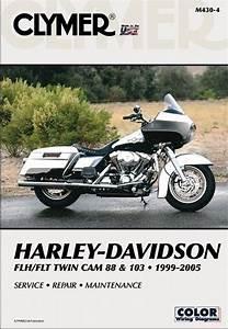 Harley Davidson Flh  Flt Twin Cam Service  U0026 Repair Manual