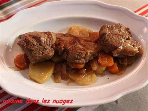 cuisiner les oignons recettes de sauté d 39 agneau et pomme de terre