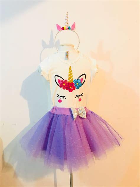 Disfraz Vestido Conjunto Unicornio Little Pony Morado Niña