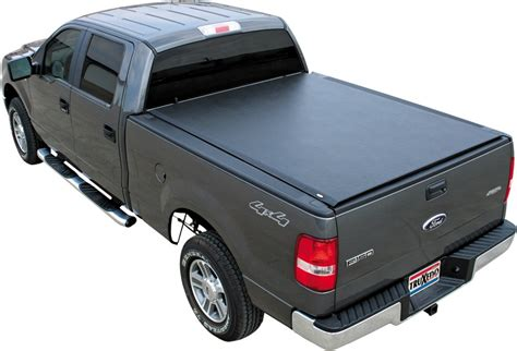 Truxedo Bed Cover by Truxedo Lo Pro Qt Soft Roll Up Tonneau Cover Black