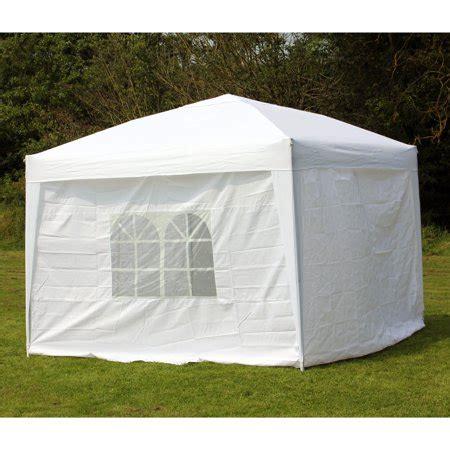 palm springs ez pop  white canopy gazebo tent   side walls  walmartcom
