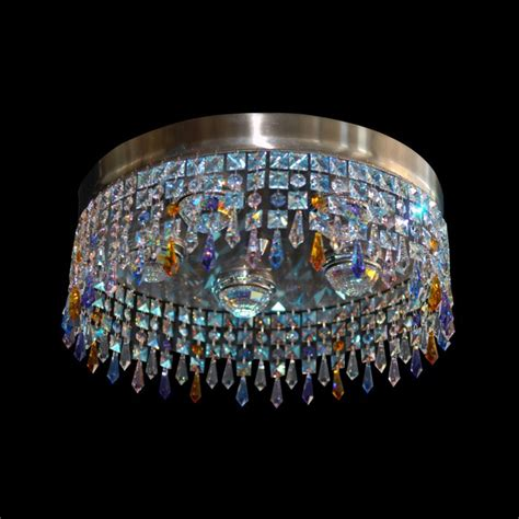 Sis Chandelier by Ceiling Fixture Chandelier Sis Swarovski Crystals 35160