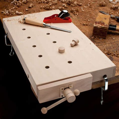 Take Your Woodworking Anywhere With This Portable Table