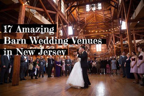 amazing barn wedding venues  nj soli