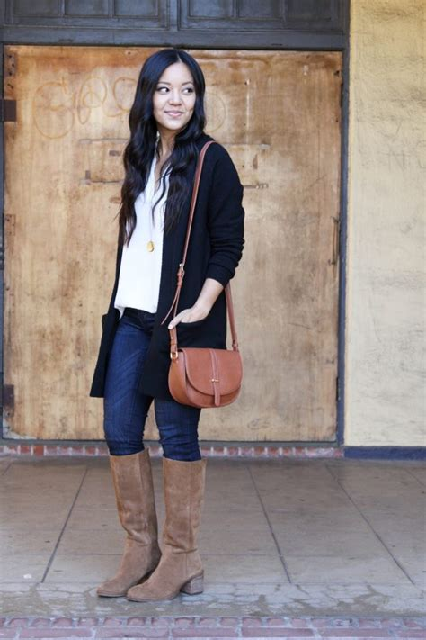 4 Ways to Wear a Black Cardigan - Putting Me Together