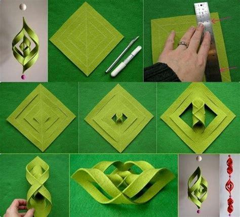 wonderful diy 3d paper star snowflakes