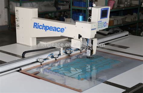 richpeace industrial automatic template making sewing
