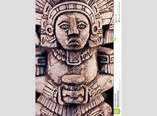 Mayan Sculpture Stock Photo Image 27937100