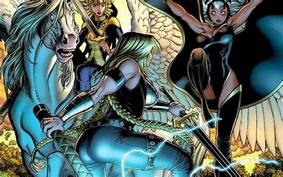 Valkyrie Marvel Comics Character Storm Comic Fear