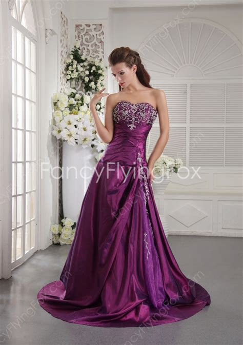 plum colored plus size dresses affordable sweetheart neckline a line length plum