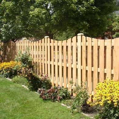 fence styles  popular designs   patio wood privacy fence fencing material