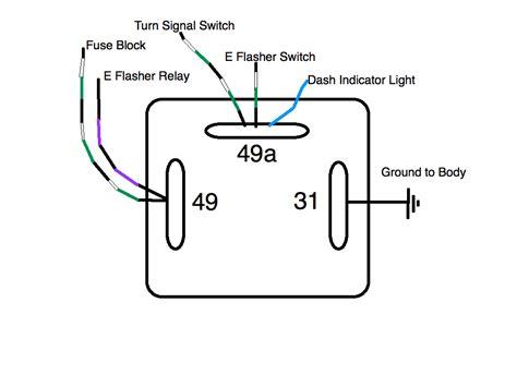 3 terminal flasher diagram