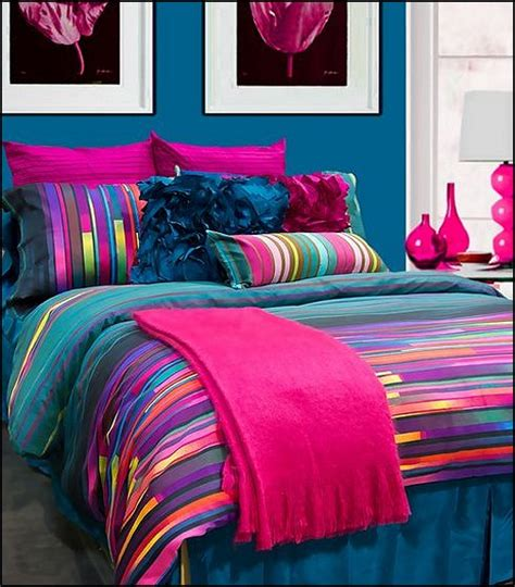 Decorating theme bedrooms Maries Manor: bedding funky