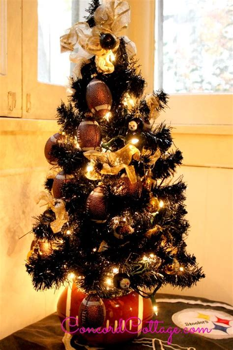 pittsburgh steelers christmas tree  wwwconcordcottage
