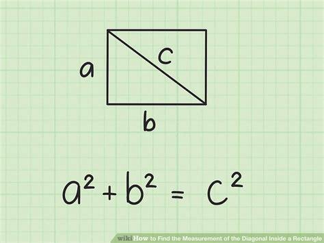 ways  find  measurement   diagonal
