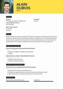 Exemples De Cv  U00c9tudiant  U0026 Conseils De R U00e9daction 2020  Guide Gratuit   U00b7 Cvapp Fr