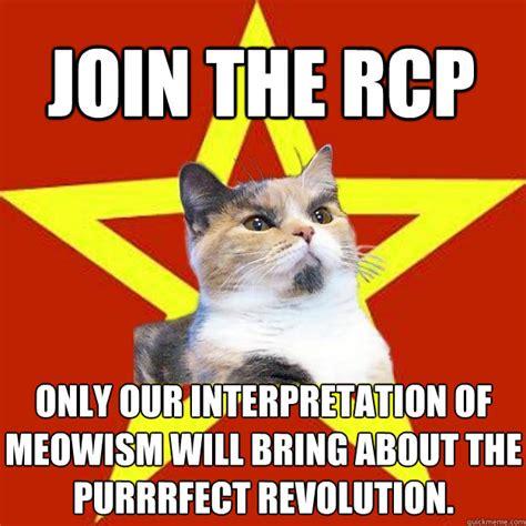 Purrrfect Meme - lenin cat memes quickmeme