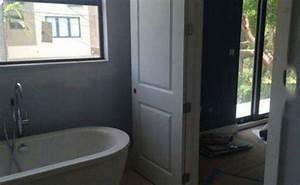Baignoire Ilot Contre Mur : prix de pose d une baignoire ~ Nature-et-papiers.com Idées de Décoration