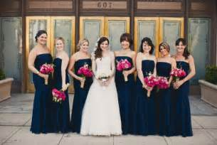 navy blue bridesmaid flowers with navy bridesmaid dresses weddingbee