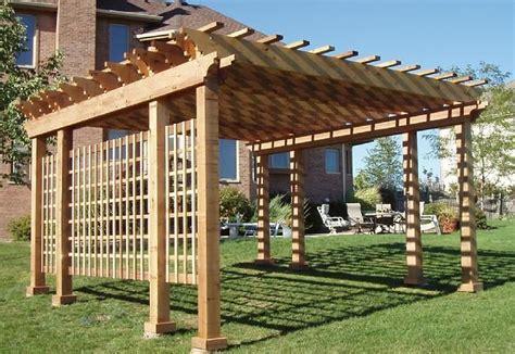 cedar pergola kits western cedar pergola kits garden outdoors