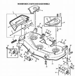 John Deere 48c Mower Deck Diagram