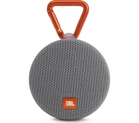 jbl clip speaker wireless jbl clip 2 portable bluetooth wireless speaker grey