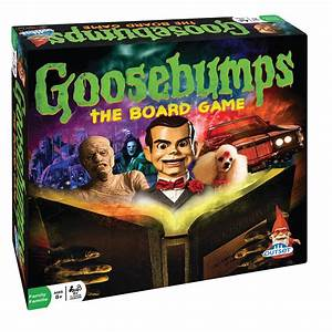 Goosebumps The Board Game - Inspired by Goose Bumps Books ...