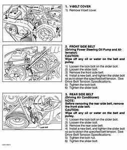 1998 Subaru Forester Serpentine Belt Routing And Timing