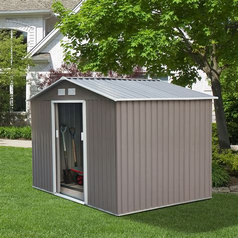 outdoor storage sheds 9 x6 outdoor storage shed box utility tool backyard