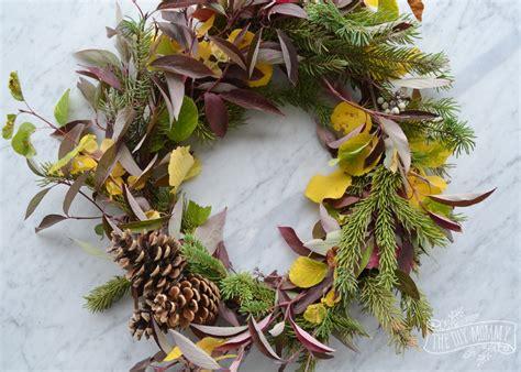 Diy Foraged Fall Wreath + 13 More Wreath Ideas  The Diy Mommy