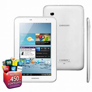 Tablet Samsung Galaxy Tab 2 7 0 P3110 Com Tela 7 0 U201d  8gb