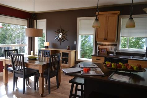 kitchen  dining room open layout  remodel
