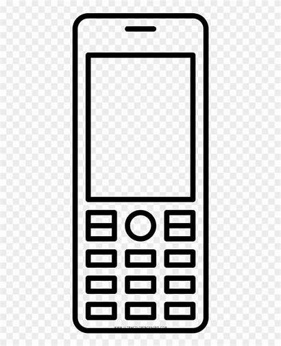 Clipart Cellphone Coloring Vector Pinclipart Scalable Graphics