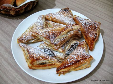 puff pastry desserts with nutella nutella puff pastry veena azmanov