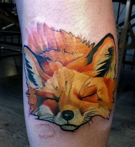impressive fox tattoo designs pictures  images ideas