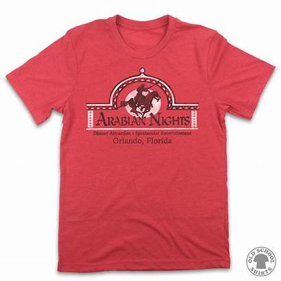 Arabian Nights Orlando Shirts Dive Restaurant Knights