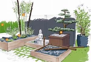 jardineries truffaut projet d39amenagement de jardin With amenagement petit jardin avec terrasse 11 jardineries truffaut projet damenagement de jardin