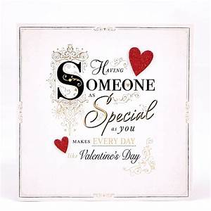 Valentine's Day Card - Exquisite Collection Someone ...