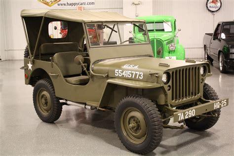 ford jeep 1943 ford gpw authentic ww ii army jeep happy days