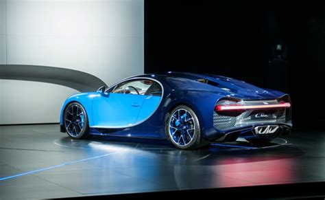 The bumpers have exposed screws. Bugatti Chiron US Spec bumpers gallery   Drive