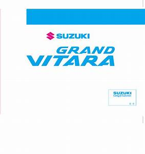 Suzuki Vitara 2015 Manual Pdf