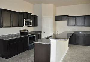 Kitchen Furniture Fine Looking Grey Wall Painted Color