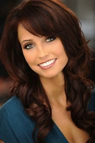 Dark Brown with Auburn Hair Color